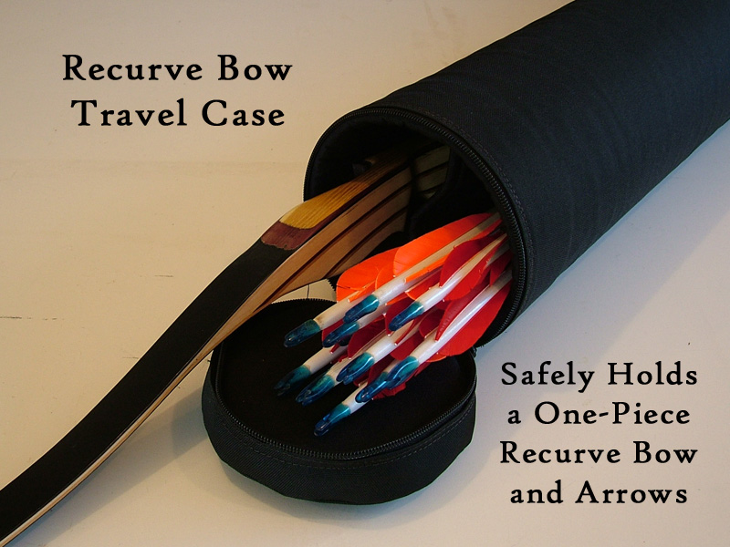 Recurve Bow Travel Case Hard Shell Airline Approved